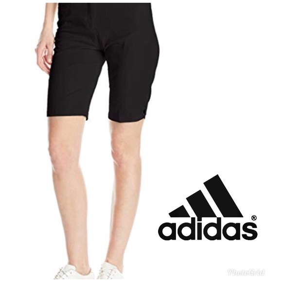 sleek new high quality first rate New Adidas Women's Golf Shorts Size 0 Black NWT